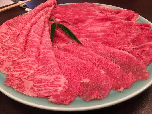 人形町 今半 すき焼き 肉 牛肉 美味しい おいしい うまい 高い 高級 豪華 空飛ぶPメシ